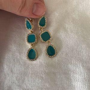 Sugarfix by bauble bar blue sparkle earrings